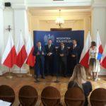 Szefowie MGMiŻŚ na konferencji poświęconej inwestycjom na Odrze (Wrocław, 3.08.16)