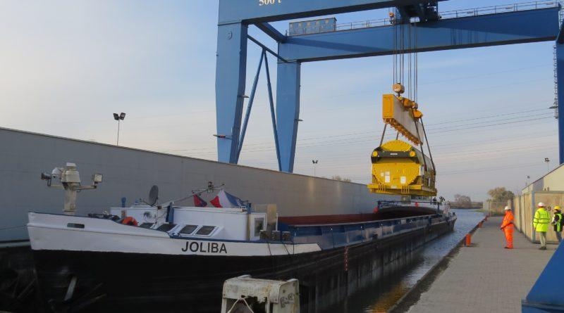 Transport rekordowego ładunku z Mülheim do Opola